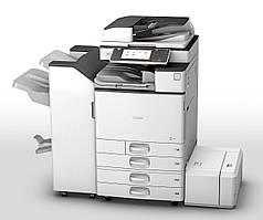 Полноцветный МФУ Ricoh MP C6003ZSP формата а3 3в1. Качественная печать. Сетевой принтер/сканер/копир.