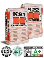 Цементный клей для укладки плитки Cementkol K22, 25кг (Литокол)