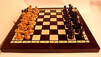 Сувенирный набор шахматы шашки 35 см