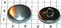 Пуговица для обтягивания тканью № 32 ( в упаковки 100 штук )