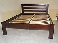 Кровать полуторная из натурального дерева Рената 1,4х2,0м