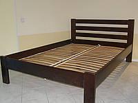 Кровать двуспальная из натурального дерева Рената