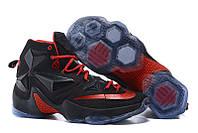 Мужские кроссовки Nike Lebron 13 Black/Red