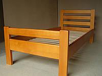 Кровать односпальная из натурального дерева Рената-В (1,9Х0,8)