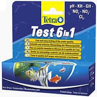 Набор для тестирования воды в аквариуме Tetra TEST 6in1