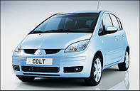 Защита двигателя и КПП Митсубиши Кольт (2004-) Mitsubishi Colt