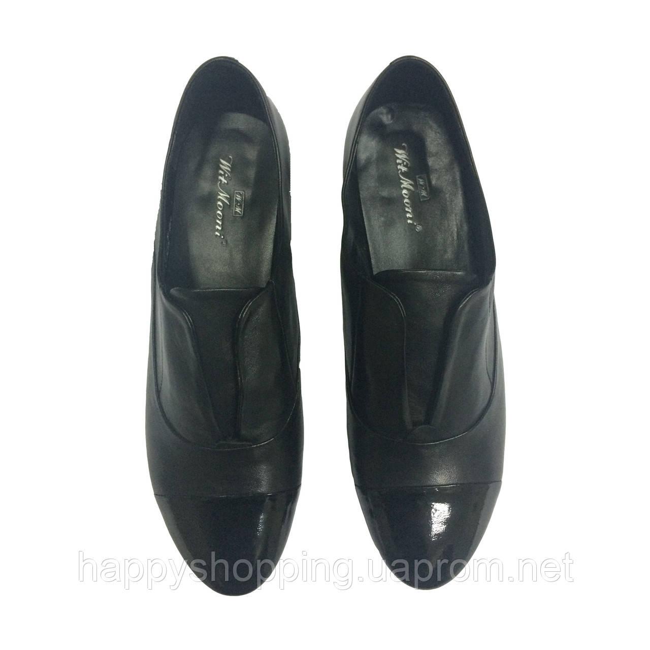 Черные туфли Wit Mooni