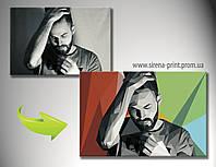 Инетрнет магазин картин на холсте Одесса. Оригинальный подарок,  картина в стиле поп арт  50х70