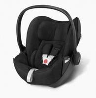 Детское автомобильное кресло переноска Cloud Q PLUS Happy Black-black CYBEX 516110017