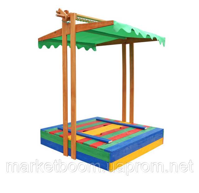 детская песочница,песочница с крышей