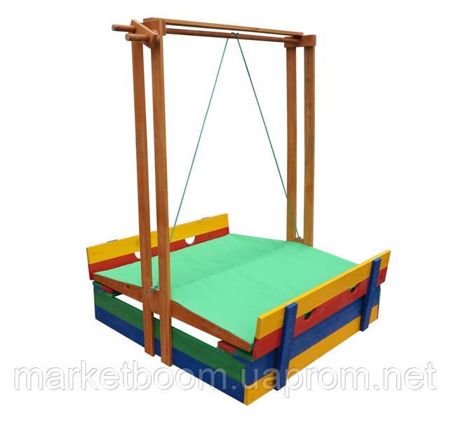 Песочница для детей,песочница с крышкой