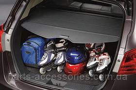 Полка шторка в багажник черная Nissan Rogue 2008-14 новая оригинал