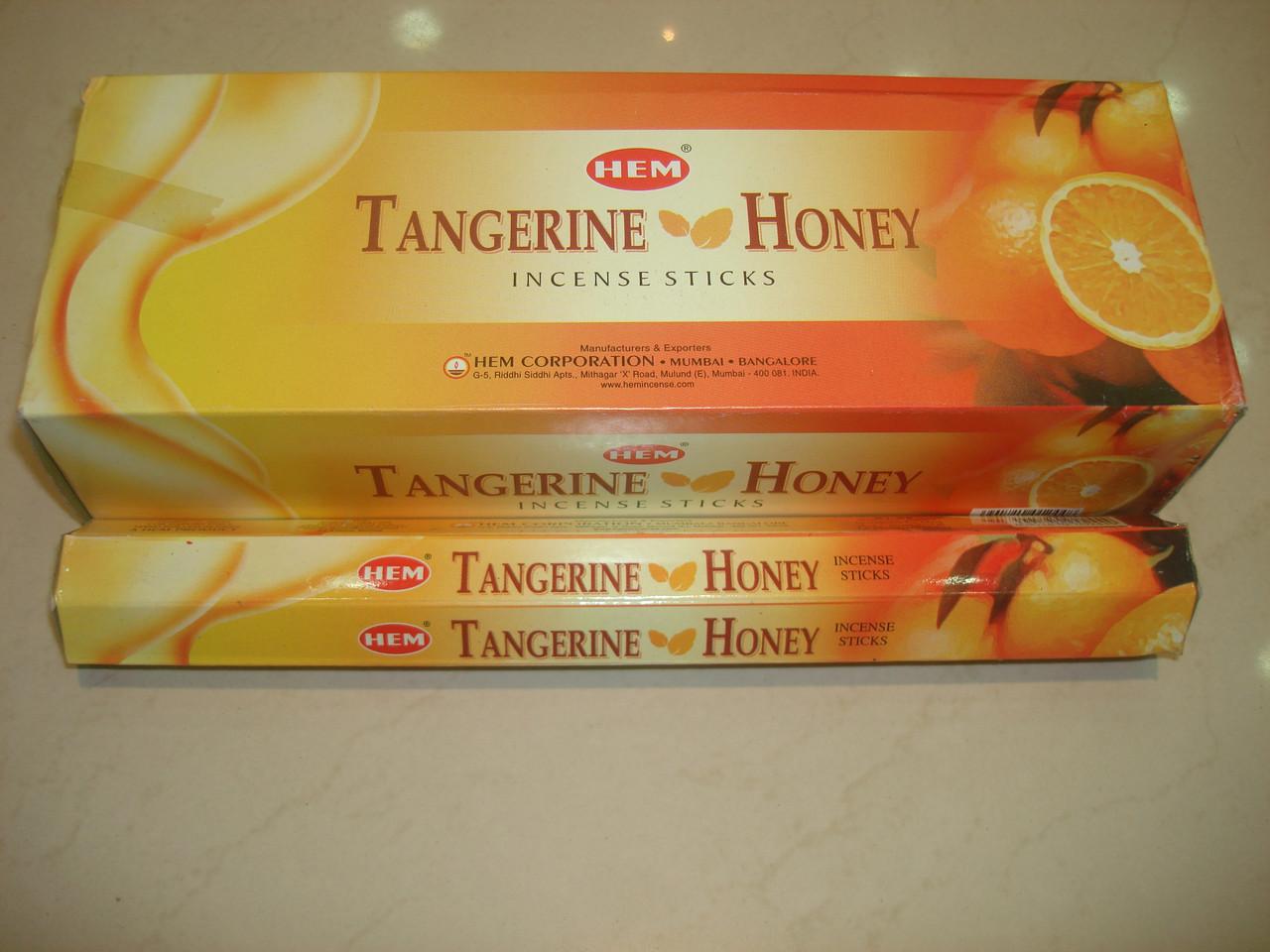Tangerine Honey Hem