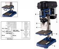 Станок сверлильный, 350 Вт, сверло 1,5-13 мм, вылет 104 мм Einhell Blue BT-BD 401 4250420
