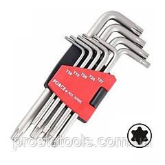 Набор Г-образных ключей Torx T10-T50 Force  5098L
