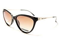 Женские очки с поляризацией Bvlgari P974 C2 SM 02901, женские брендовые очки бабочки коричневые линзы