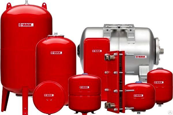 Расширительные баки для систем отопления (Компенсаторы)