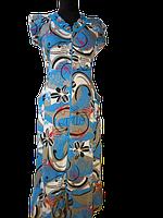 Женский халат летний с рюшами