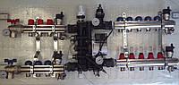 Комплект коллекторов радиаторы 3 вых и теплые полы 3 вых EMMETI