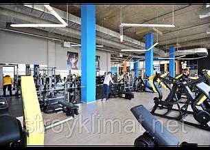 Вентиляция фитнес клуба, фото 2