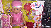Пупс baby born в розовой одежке, фото 1