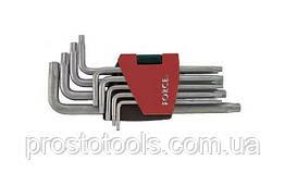 Набор ключей Torx с отверстием длинных Force 5098LT