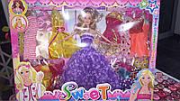 Детская игрушка кукла sweet с одеждой в наборе