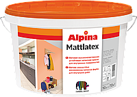 Alpina Mattlatex стойкая латексная краска матовая 1л