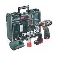 Metabo PowerMaxx BS Quick Pro Mobile Workshop NEW 10.8 В, 1xLi-Power 2.0 Аг; 1xLi-Power 4.0 Аг; Quic