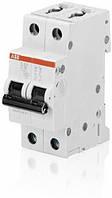 Автоматический выключатель ABB SH202-C6 тип C, 6А 2-х полюсной