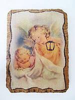 Необычная фреска Ангел Хранитель
