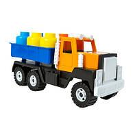 Детская машина Грузовик с бочками