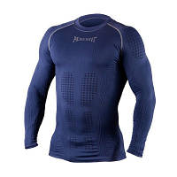 Компрессионная футболка с длинным рукавом Peresvit 3D Performance Rush Compression T-Shirt Navy