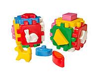 Развивающая игрушка куб Умный малыш Веселая компания ТехноК 1950 IU