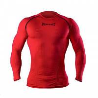 Компрессионная футболка с длинным рукавом Peresvit 3D Performance Rush Compression T-Shirt Red