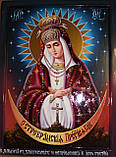 Икона писаная Остробрамская Божья Матерь, фото 3