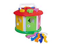 Развивающая игрушка Умный малыш Домик ТехноК 2438 IU