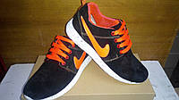 Кроссовки Мужские Roshe Roshe Yeezy Nike (оранжевые 35-45)