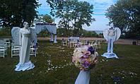 Свадебные ангелы для выездной церемонии ! Живые скульптуры !
