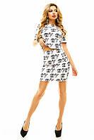Женский летний костюм с юбкой  Chanel ( Шанель)