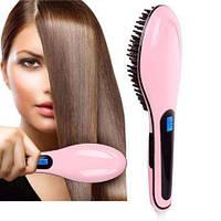 Электрическая расческа-выпрямитель Fast Hair Straightener HQT-906 (дисплей), фото 1