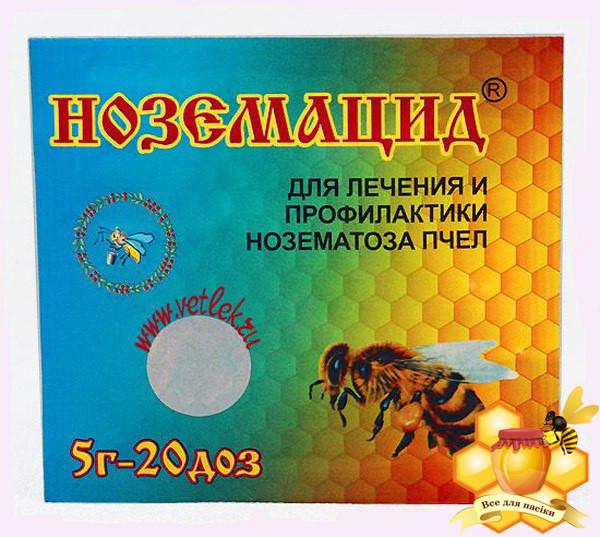 """Ноземацид """"Агробиопром"""" Россия 5 г -20 доз"""