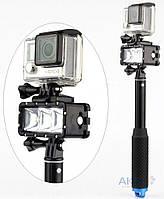 Aksline Лампа LED водонепроницаемая для камер GoPro, SJCAM, Xiaomi
