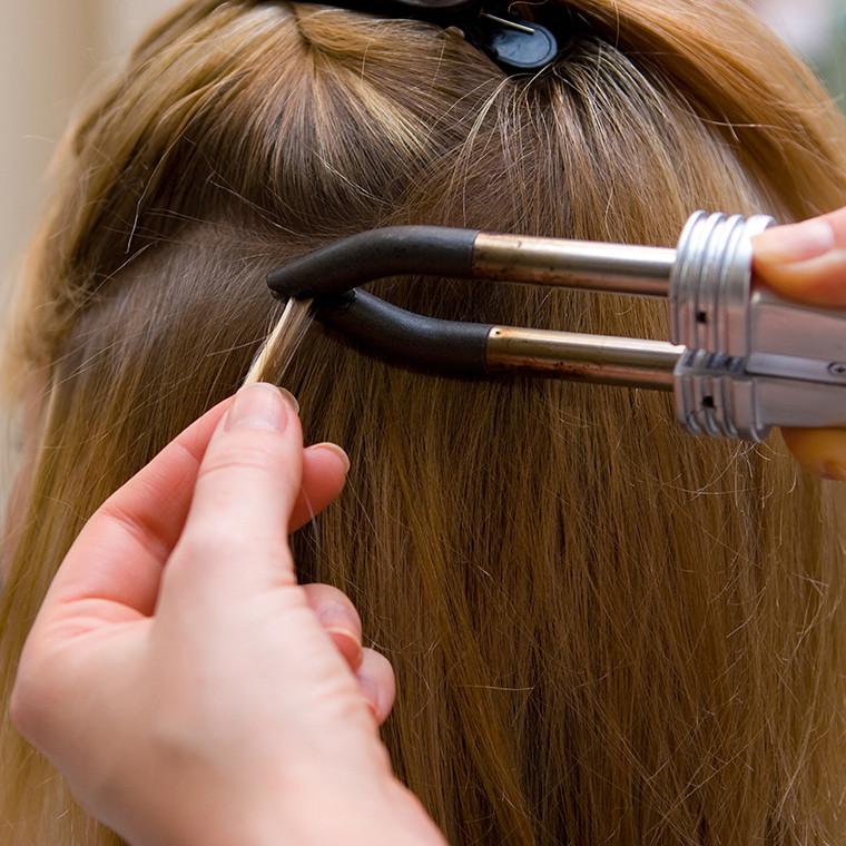Капсульное наращивание волос в Днепропетровске