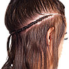 Коррекция трессового наращивания волос