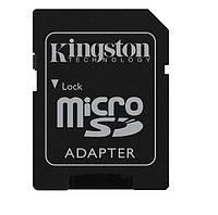 Адаптер карты памяти с Micro SD На SD, Kingston /переходник микро сд