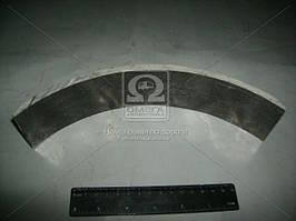 Накладка тормозная ГАЗ 51,52, 53 передняя короткая (Трибо). 51-3501106