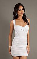 Коктейльное летнее  мини платье Miss короткое купить