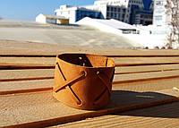 Браслет аксессуар мужской кожаный переплетение от BRUTAL (Hand Made)
