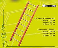 Лестница для кроватей Романтика и Мишка